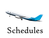 Flights schedule
